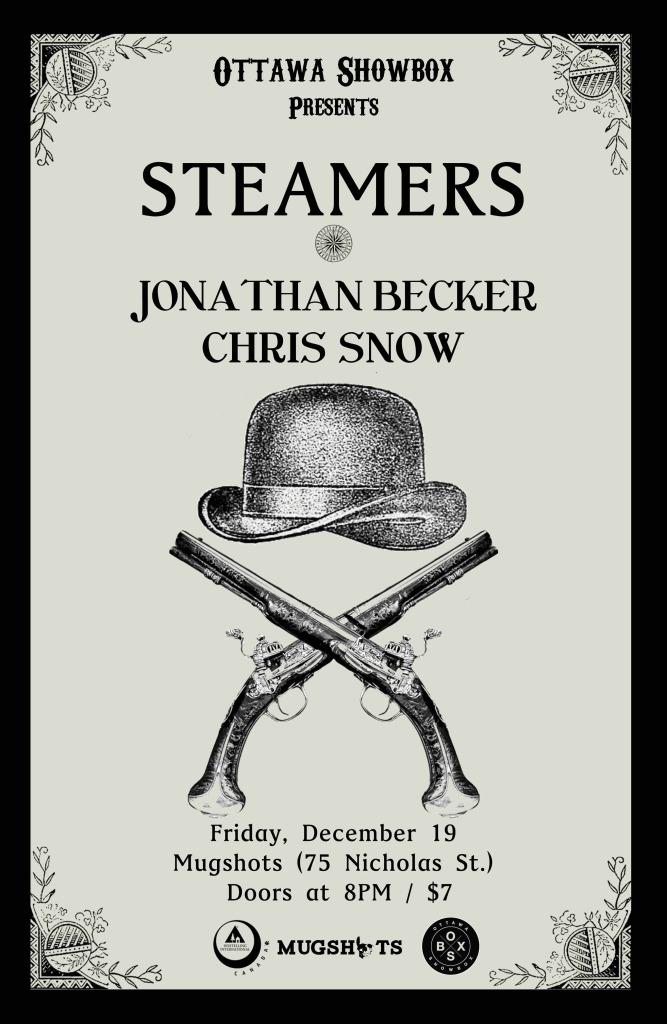 steamers, mugshots, concert, live music, music, jonathan becker, chris snow