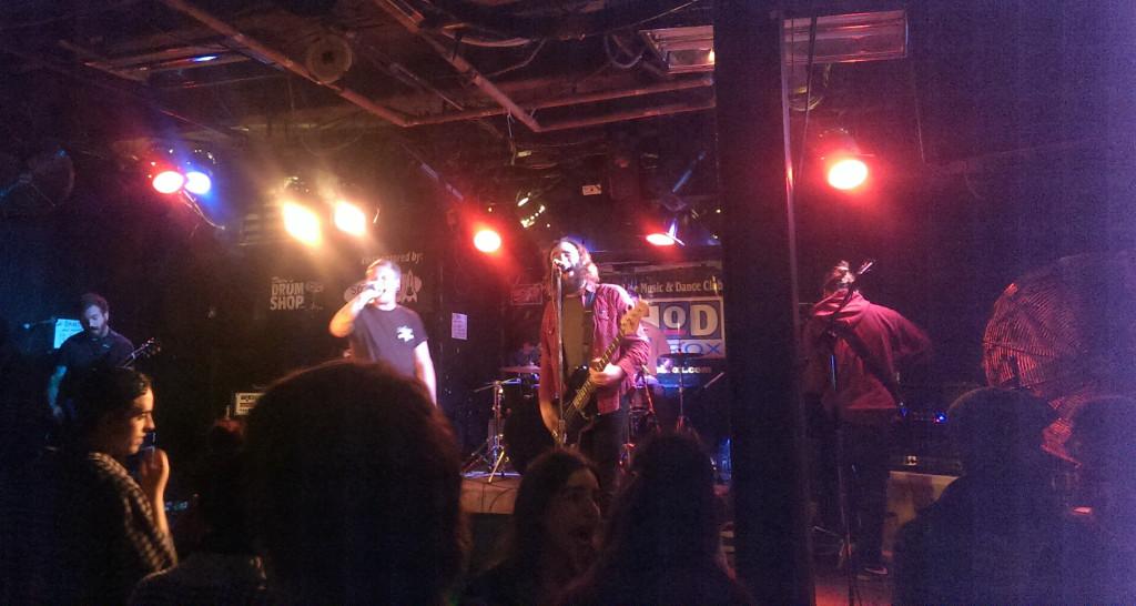 Rydell live at Zaphod's in Ottawa, Ontario.
