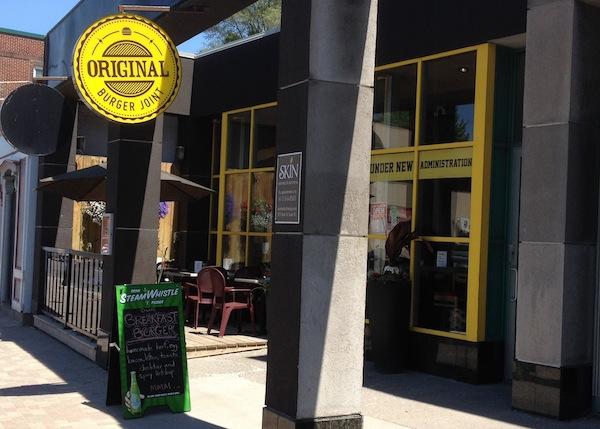 original burger joint
