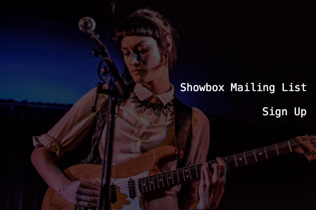 Showbox Mailing List