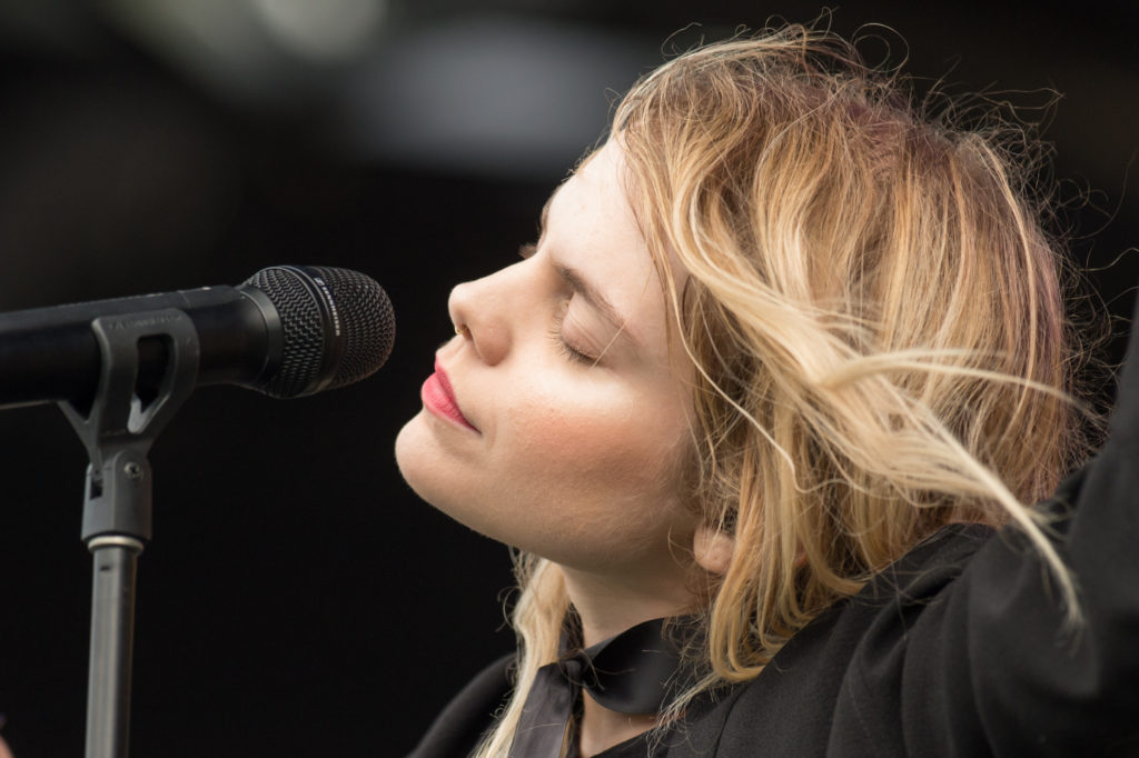 Coeur de Pirate performed at RBC Bluesfest in Ottawa on Friday, July 8, 2016. RBC Bluesfest Press Images PHOTO Marc DesRosiers