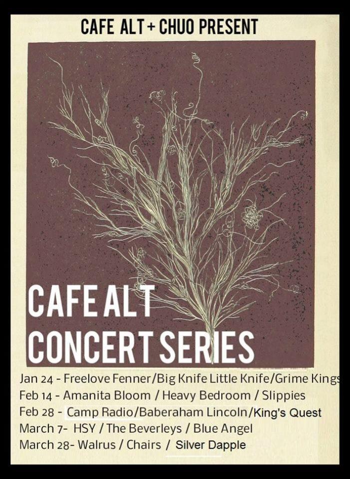 Cafe Alt, UOttawa, Concert series, contest, indie