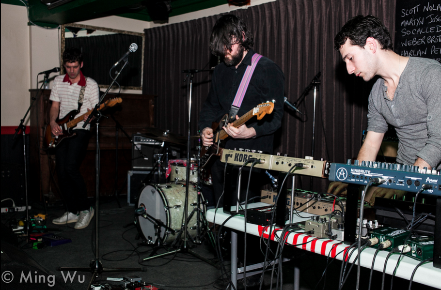 SUUNS, Ottawa, Wakefield, Black Sheep Inn, Scattered Clouds,