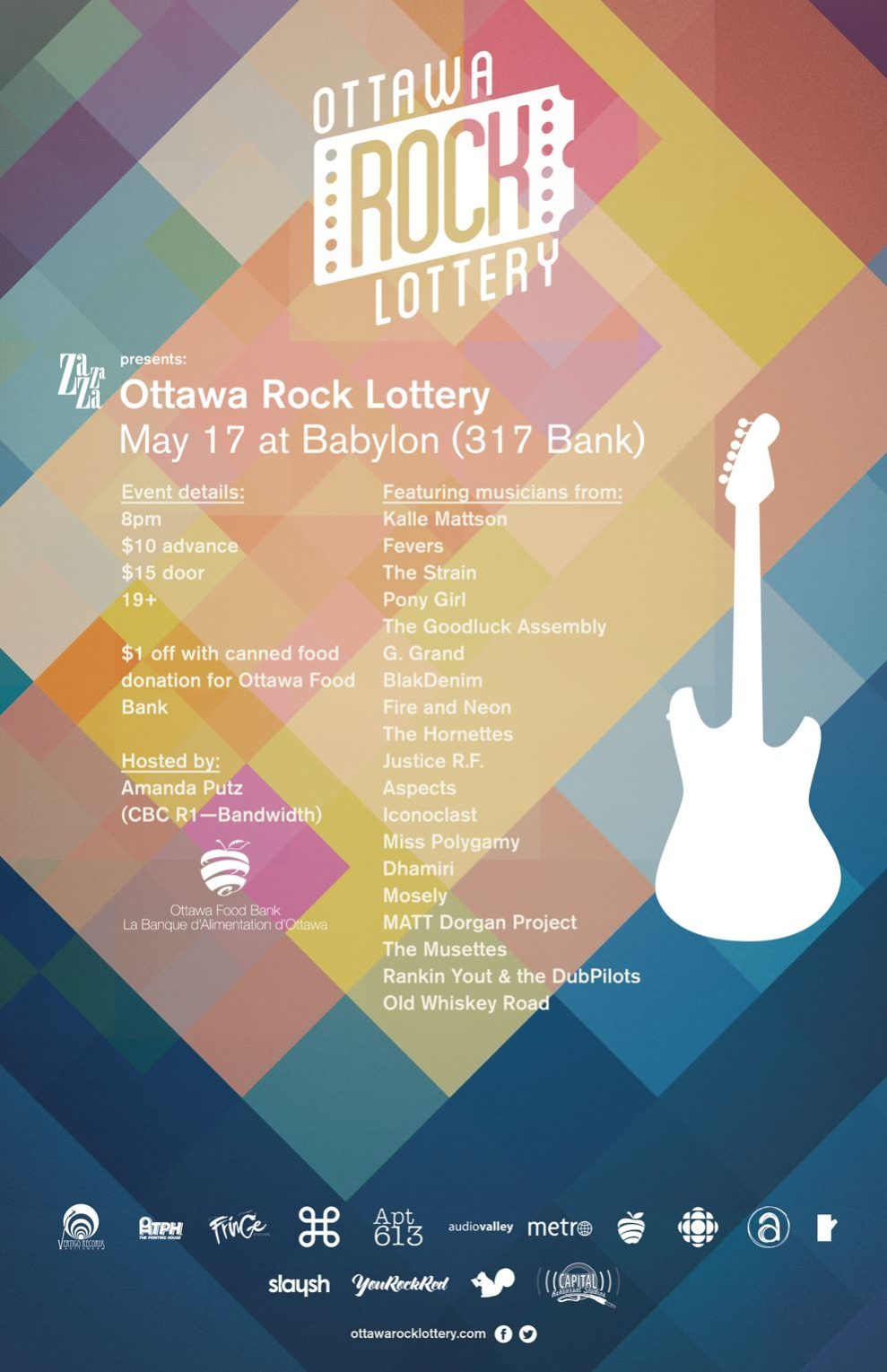 Ottawa rock lottery, yourockred,