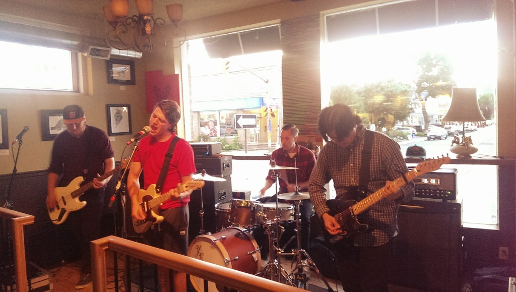 Safekeeping opening the evening on July 3, 2014 @ Luneta Café -- Photo: Eric Scharf