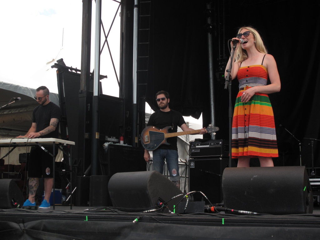 Sounds of Lions opened the River Stage on July 12 at RBC Bluesfest. Photo: Joseph Mathieu
