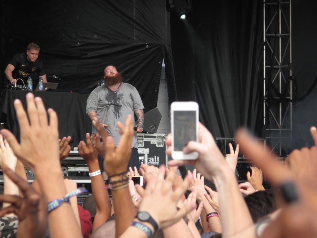 Action Bronson fulminated on the Claridge Homes Stage on July 12 at RBC Bluesfest. Photo: Joseph Mathieu