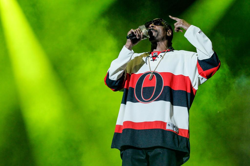 Snoop Dogg at the RBC Royal Bank Bluesfest 2014