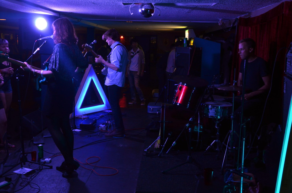 Freelove Fenner playing House of Targ in Ottawa during Arboretum 2014. Photo by Jeff Watkins
