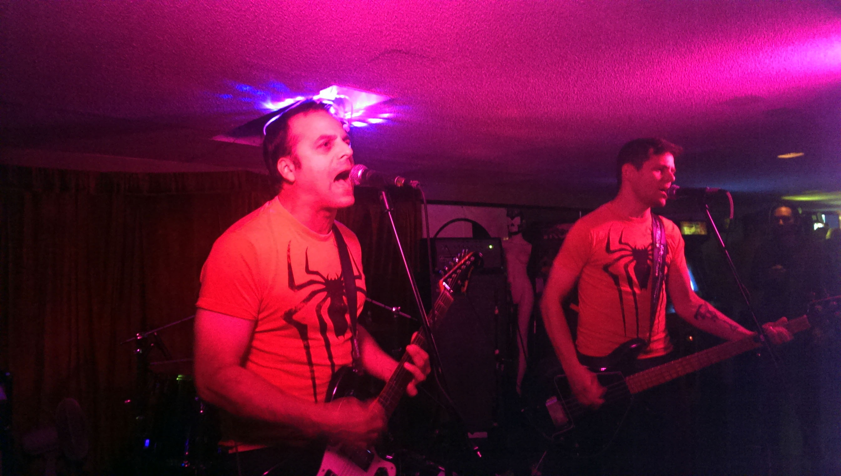 NECK representing Spider-Man at Finish What You Started Fest in Ottawa.