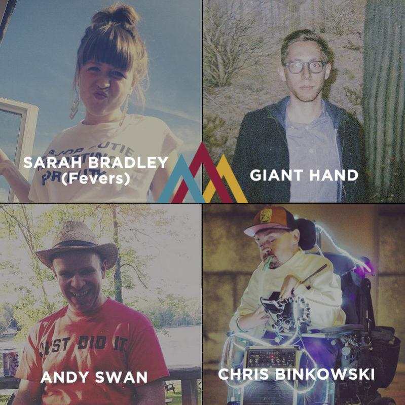 arboretum festival, ottawa, indie, showbox, arts court, hammock sessions, giant hand, andy swan, binko, sarah bradley