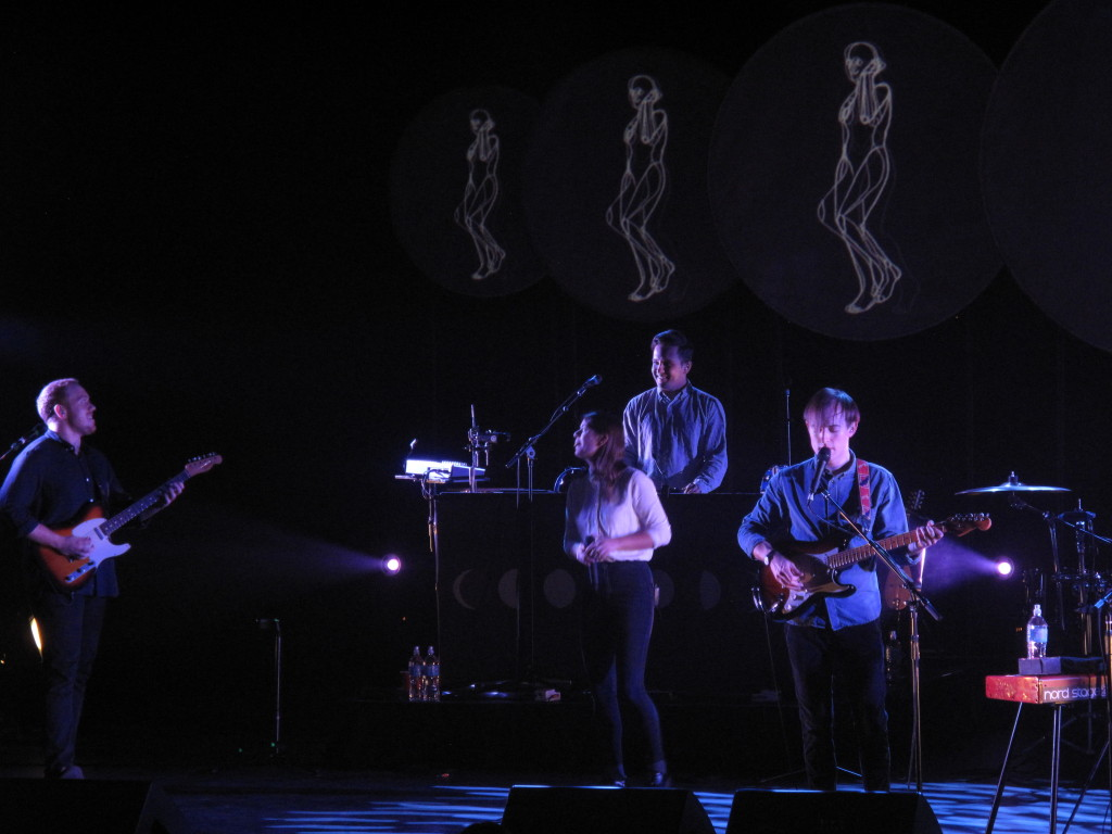 Bombay Bicycle Club performing at Algonquin Commons Theatre on Friday, October 17th, in Ottawa.
