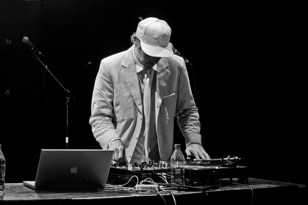 Buck 65 scratching up a storm at Ottawa Bluesfest 2011. Photo: Blair Smith, Byward of Mouth