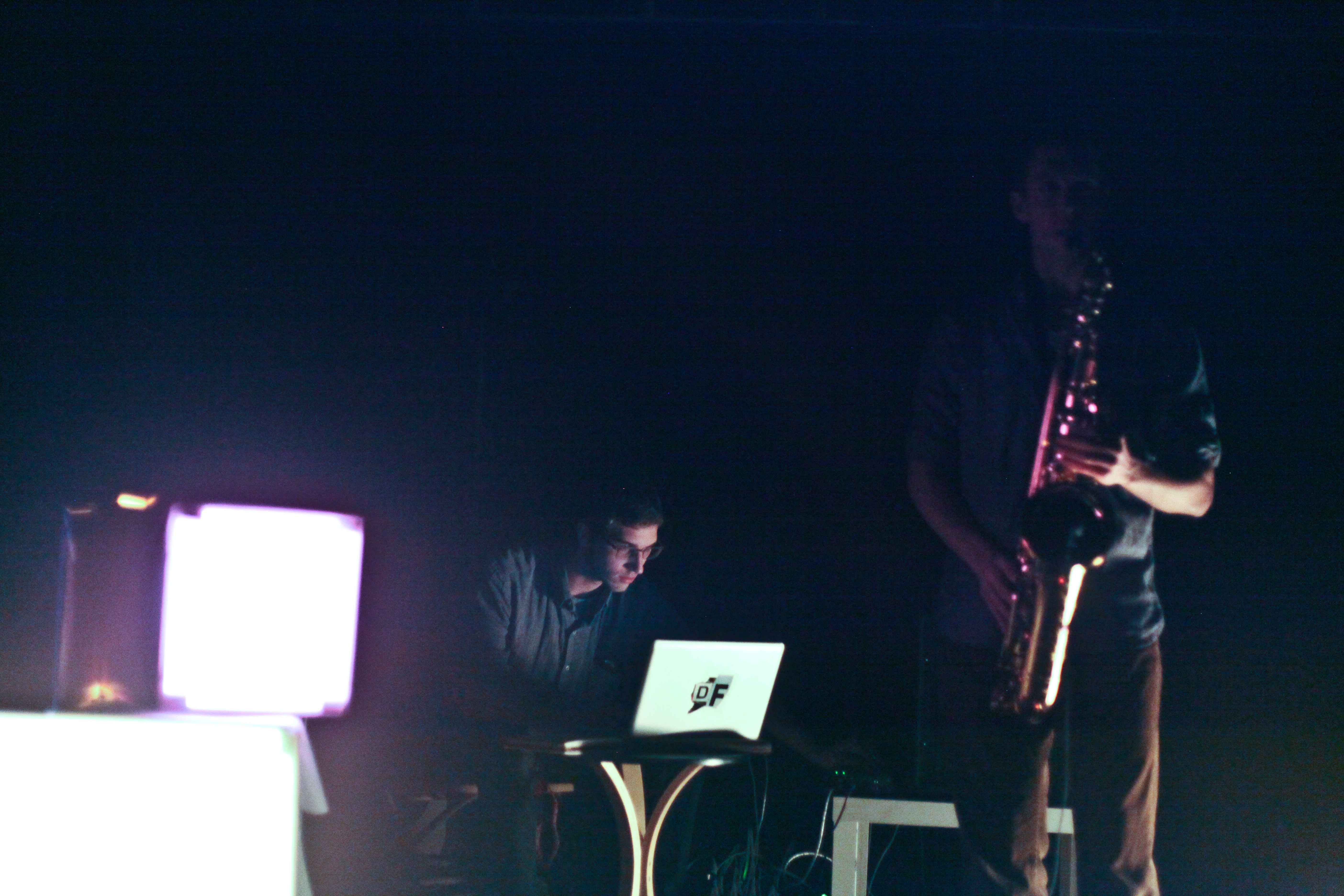 Dustin Finer & Daniel Freder push sensory limits.