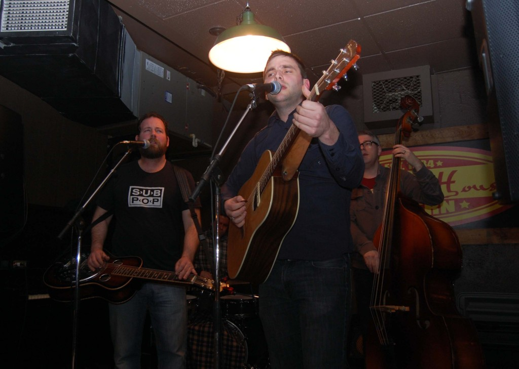Jack Pine and the Fire kicking things off at Elmdale Oyster House during MEGAPHONO in Ottawa, ON.
