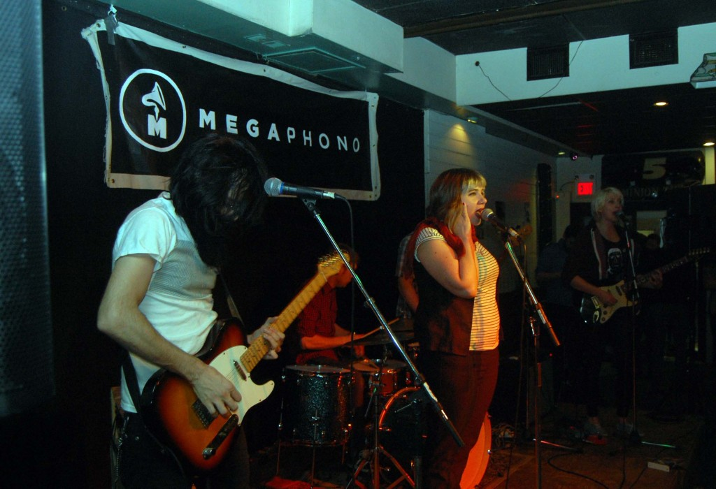 Kings Quest playing at the Dominion Tavern during MEGAPHONO in Ottawa, ON. Photo: Eric Scharf