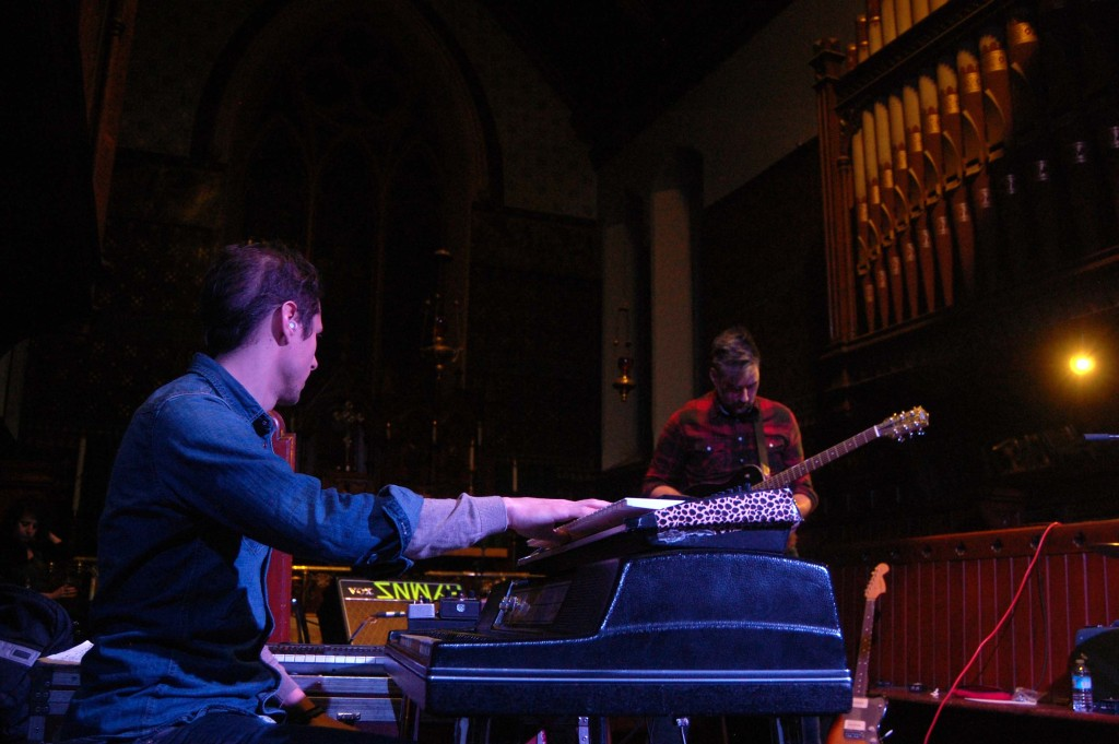 LAst Ex playing St. Alban Church during Megaphono in Ottawa, On.