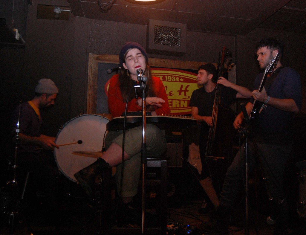 Her Harbour playing the Elmdale Oyster House during MEGAPHONO in Ottawa, ON. Photo: Eric Scharf