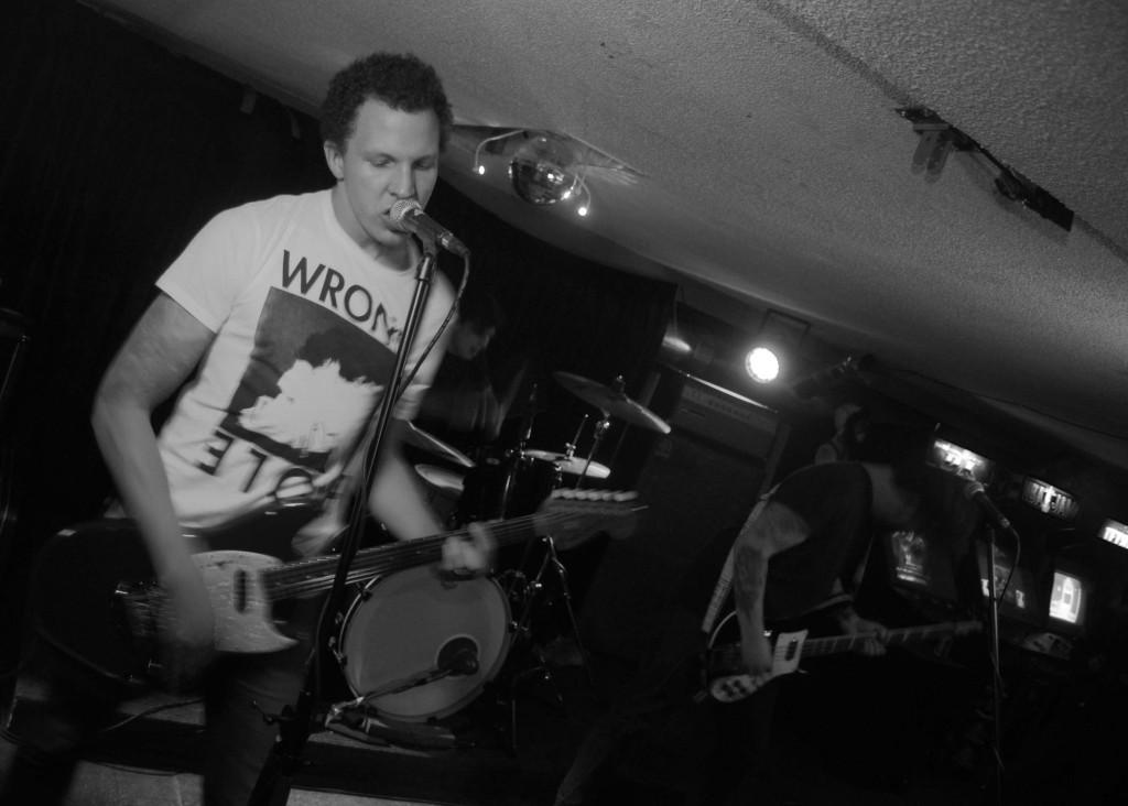 Brat Kings rocking out at House of Targ in Ottawa, Ontario. PhotoL Eric Scharf