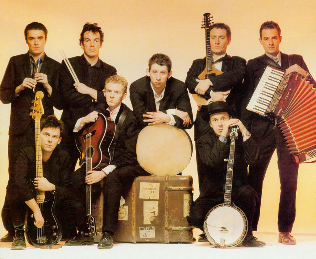 The Pogues in all their glory.