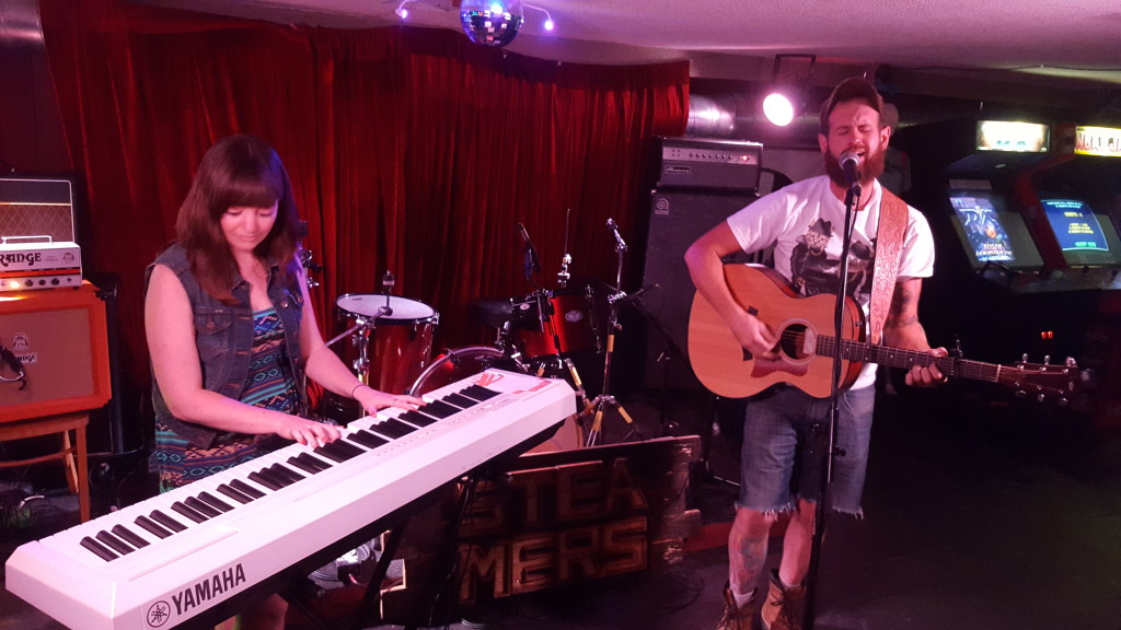 Cory Levesque accompanied by Laura Sinclair playing House of Targ in Ottawa, ON.