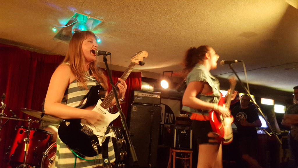 Bonnie Doon getting weird at House of Targ in Ottawa, ON.
