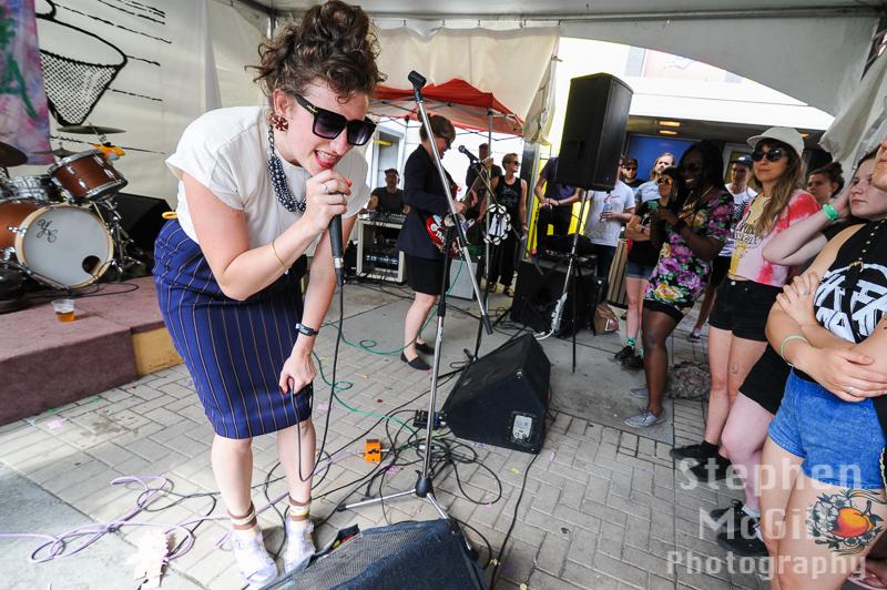 Bonnie Doon at Ottawa Explosion 2015. Photo by Stephen McGill.