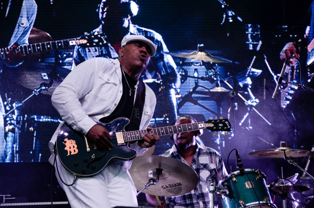 Ronnie Baker Brooks is seen here performing at  the RBC Bluesfest in Ottawa on Thursday, July 9  2015. ~  RBC Bluesfest Press Images  PHOTO/Danyca MacDonald