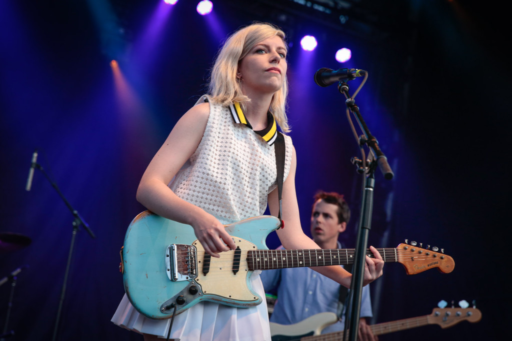 Alvvays performing at the RBC Bluesfest in Ottawa on Saturday, July 11, 2015. ~ RBC Bluesfest Press Images, Photo: Mark Horton