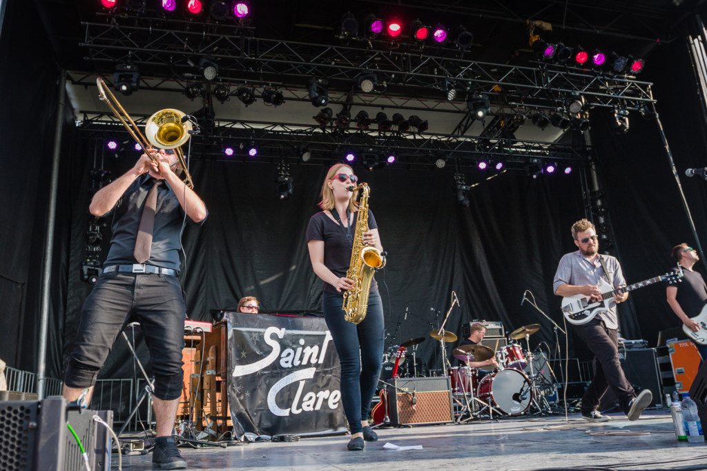 Saint Clare is seen here performing at the RBC Bluesfest in Ottawa on Wednesday, July 9, 2015.~ RBC BluesfestPress Images PHOTO/Scott Penner