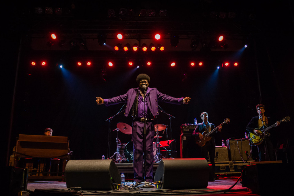 Charles Bradley & His Extraordinaires  is seen here performing at the RBC Bluesfest in Ottawa on Wednesday, July 9, 2015. ~RBC Bluesfest Press Images PHOTO/Scott Penner