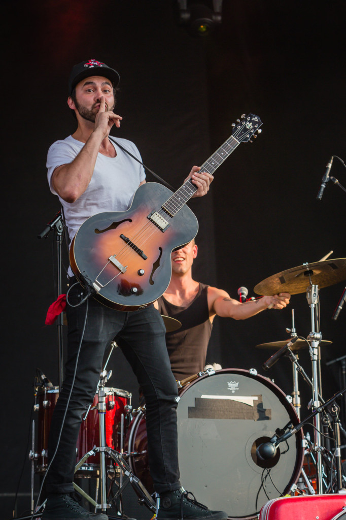 Shakey Graves performing at the RBC Bluesfest in Ottawa on Saturday, July 11, 2015. ~ RBC Bluesfest Press Images, Photo: Scott Penner