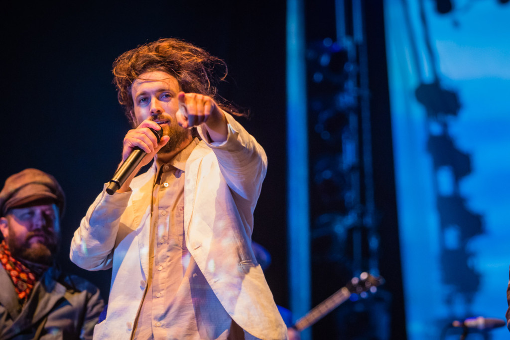 Edward Sharpe and the Magnetic Zeros performing at the RBC Bluesfest in Ottawa on Tuesday, July 14, 2015. ~RBC Bluesfest Press Images, Photo: Scott Penner