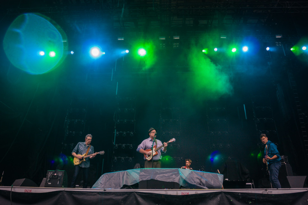 John Carroll & The Epic Proportions is seen here performing at the RBC Bluesfest in Ottawa on Friday, July 17, 2015. The RBC Bluesfest is ranked by Billboard Magazine as one of North America's top ten festivals. ~RBC Bluesfest Press Images PHOTO/Scott Penner