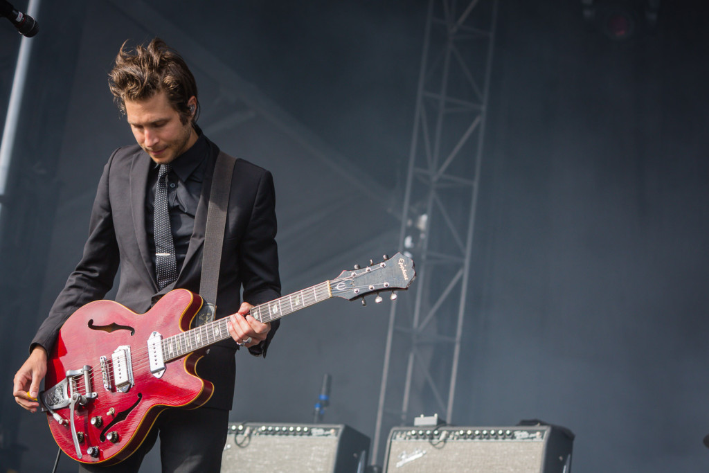 Interpol  is seen here performing at the RBC Bluesfest in Ottawa on Saturday, July 18, 2015. ~RBC Bluesfest Press Images PHOTO/Scott Penner