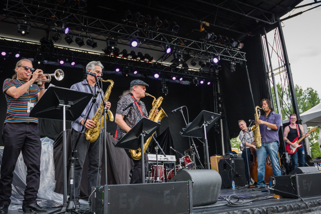 The 24th Street Wailers is seen here performing at the RBC Bluesfest in Ottawa on Sunday, July 19, 2015.~RBC Bluesfest Press Images PHOTO/Scott Penner