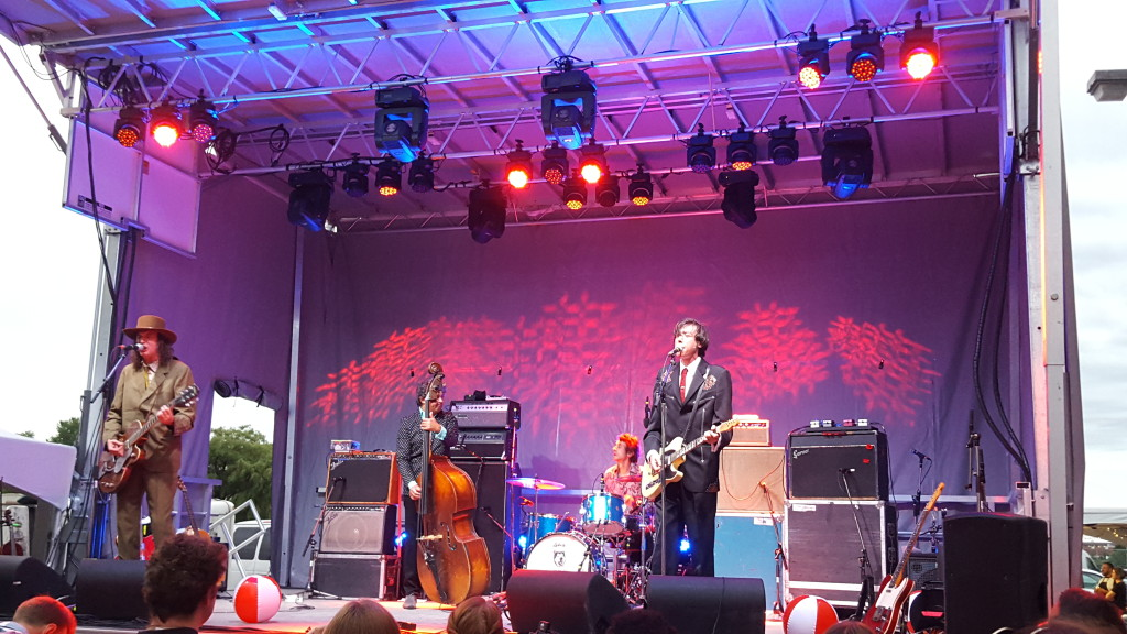 The Sadies playing Arboretum 2015 on Albert Island in Ottawa, ON.