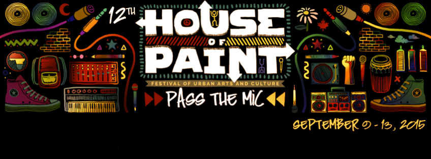 House of paint, ottawa, hip hop, 2015
