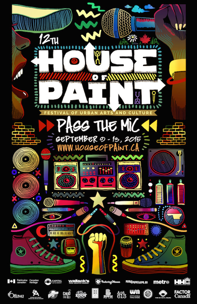 house of paint, hop, ottawa, hip hop