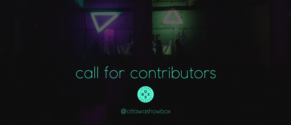 ottawa, writers, contributors, arts, music, culture, write