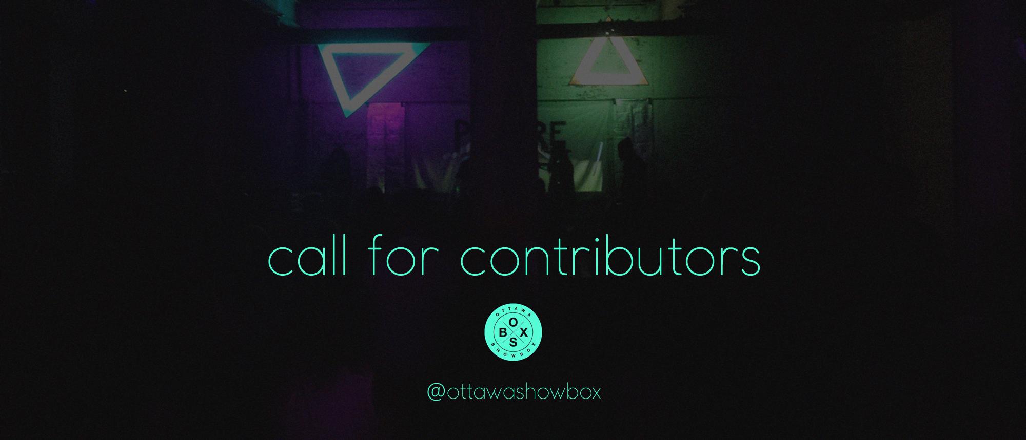 ottawa, writers, contributors, arts, music, culture, write