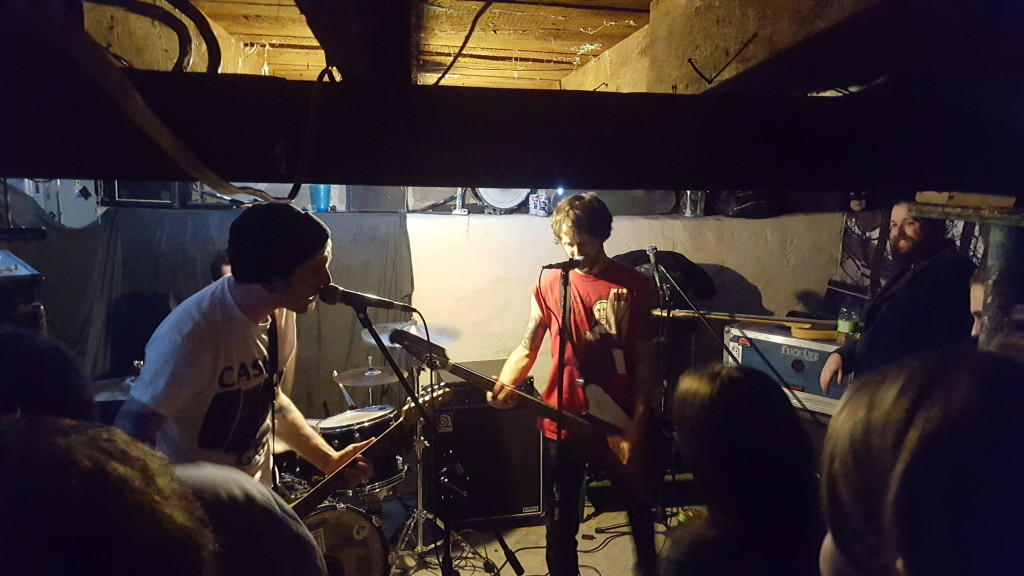 Panic Attack from Montreal playing Funeral Home.