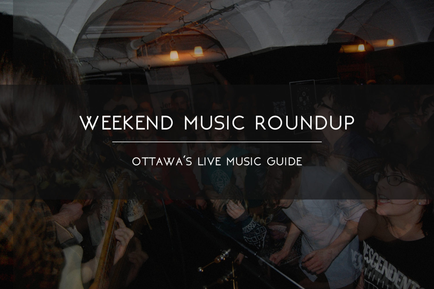 ottawa listings, events, roundup, concerts, music, shows