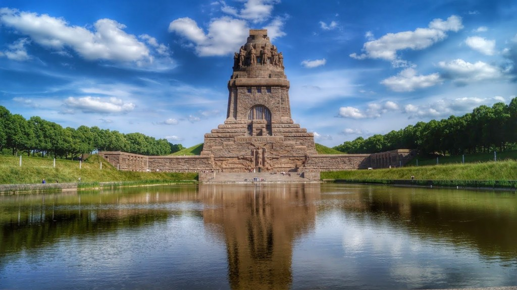 The amazing war memorial in Leipzig, Germany called Monument of the Battle of the Nations.