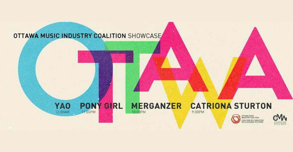ottawa, CMW, Canadian Music Week, Showcase, OMIC, Ottawa Music Industry Coalition