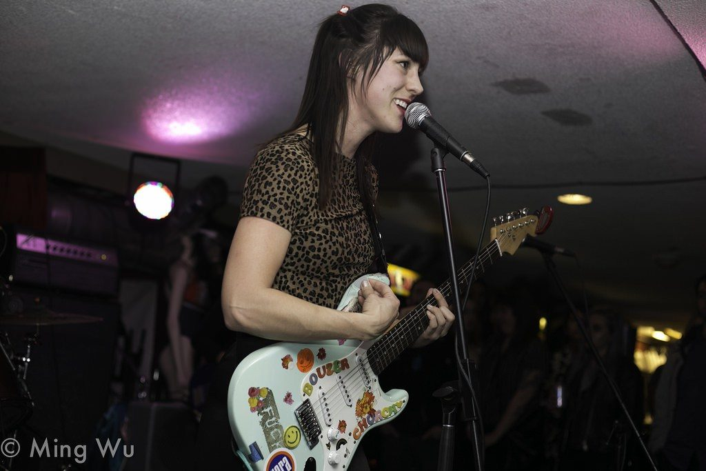Allie of Peach Kelli Pop was all smiles all night at House of Targ in Ottawa. Photo: Ming Wu