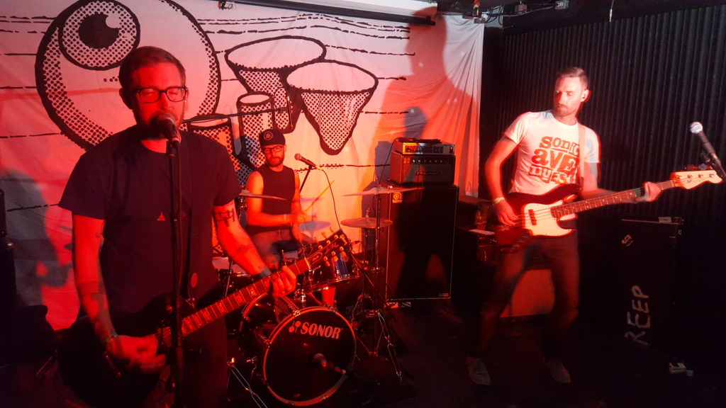The Creeps brought party inside at Ottawa Explosion Weekend 2016 at SAW Gallery in Ottawa. Photo: Eric Scharf
