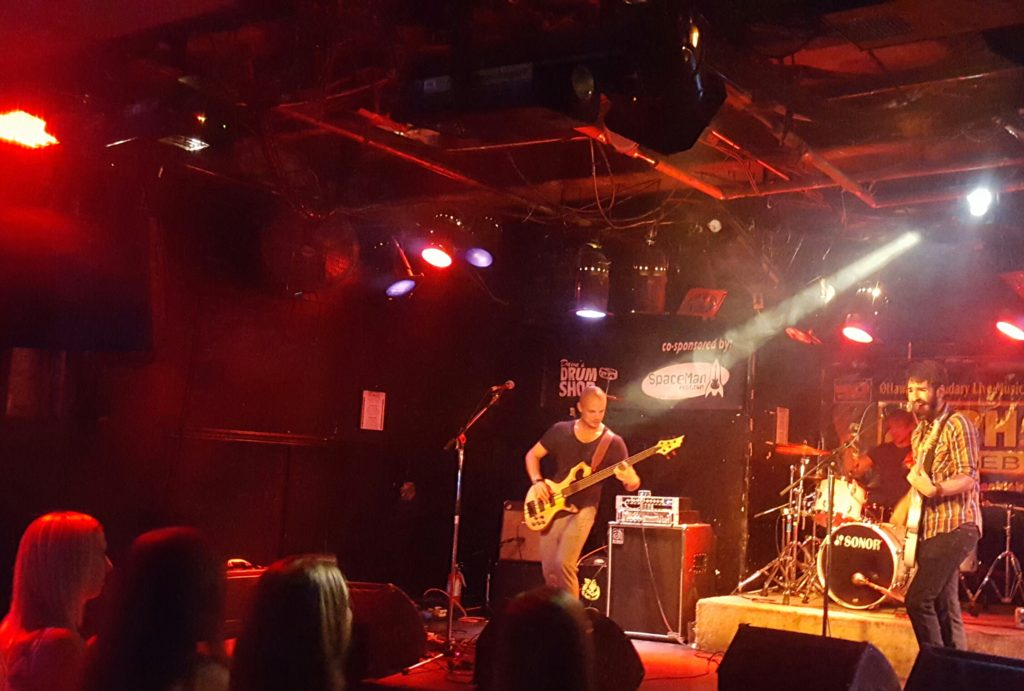 Metronome Jones rocking for Fort McMurray at Zaphod's in Ottawa.