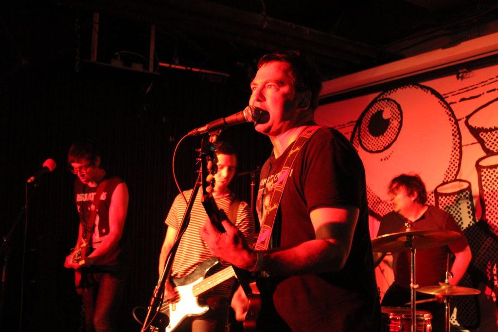 Strange Attractor rocking at Ottawa Explosion Weekend 2016 at SAW Gallery. Photo: Eric Scharf