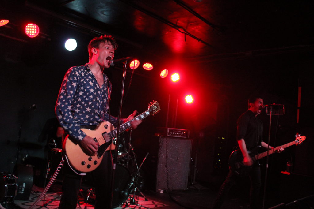 The Dirty Nil absolutely crushing it at Ritual Nightclub during Ottawa Explosion Weekend 2016 in Ottawa. Photo: Eric Scharf